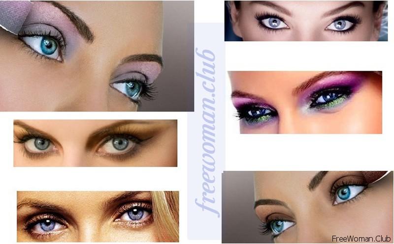 Как подобрать цвет теней для карих глаз