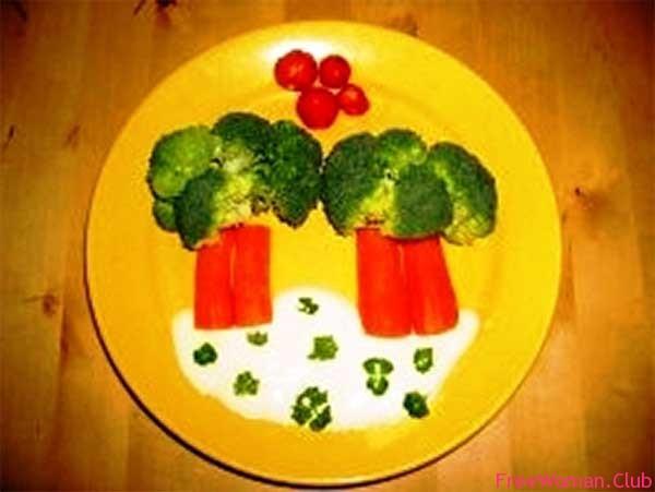 оформление детских блюд фото рецепт