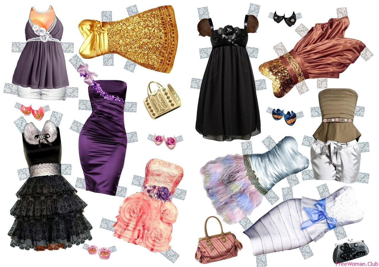 Одевалки для девочек своими руками