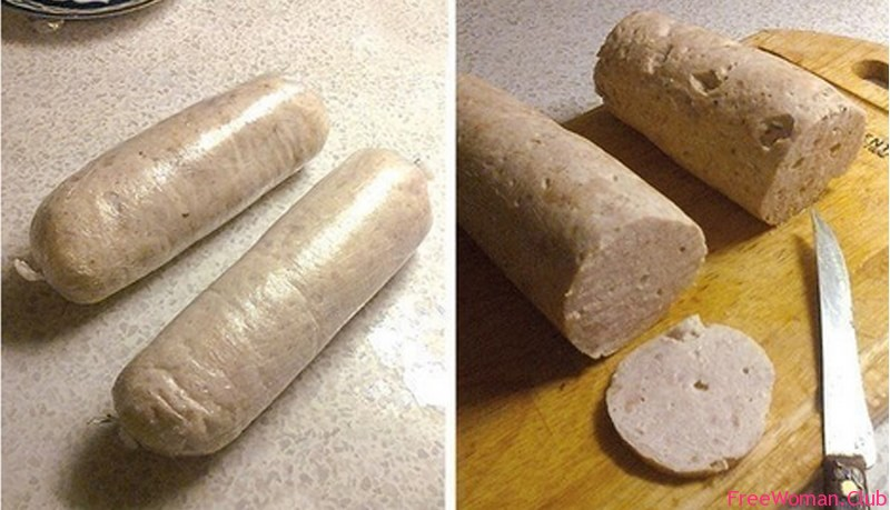 Как приготовить варёную колбасу в домашних условиях