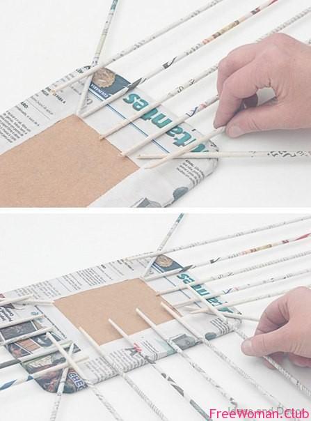 Корзина своими руками из газеты