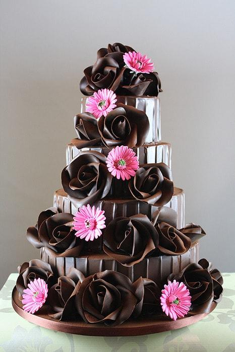 фото красивых шоколадных тортиков