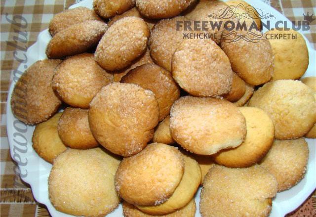 рецепт быстрого печенье