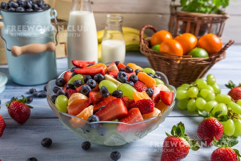 примерное меню сбалансированного питания для похудения