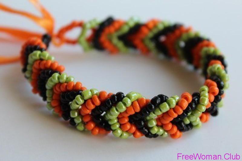Как сделать красивые браслеты из бисера своими