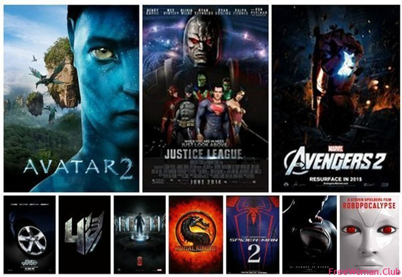 Рейтинг самых ожидаемых фильмов - все фильмы
