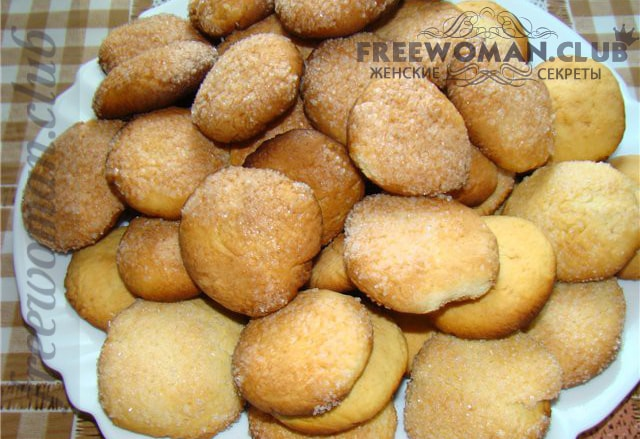рецепт обычного печенья быстрого приготовления