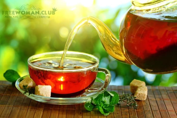 как пить чай для похудения